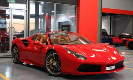 Ferrari 488 mieten bei Edel & Stark in Dubai