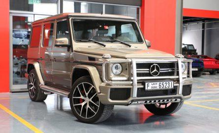 Mercedes Benz G63 AMG mieten in Dubai bei Edel & Stark
