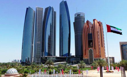 Skyline von Abi Dhabi