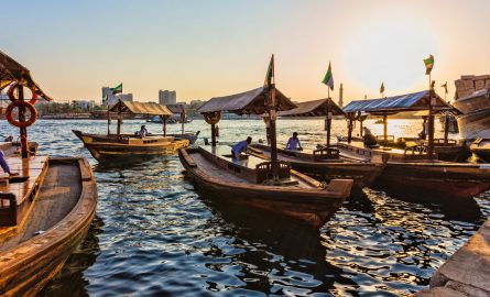 Abras am Dubai Creek