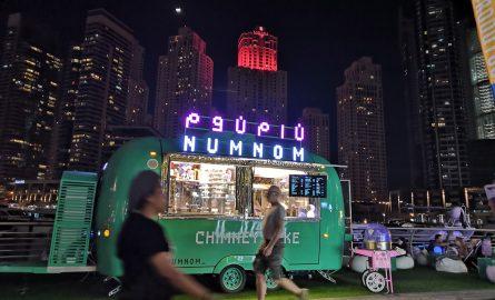 Dubai Marina Street Food
