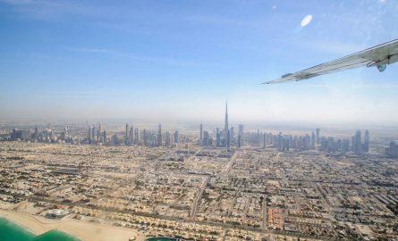 Rundflug über Dubai