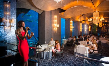 Aquarium Restaurant im Hotel Atlantis The Palm in Dubai