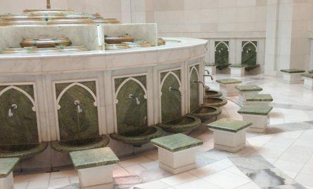 Scheich Zayed Moschee Marmor