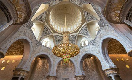 Scheich Zayed Moschee innen