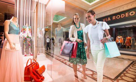 Shopping Möglichkeiten im Atlantis The Palm