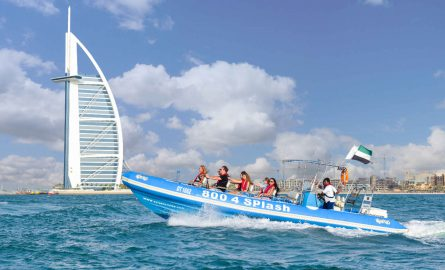 Speedboot Tour in Dubai online buchen