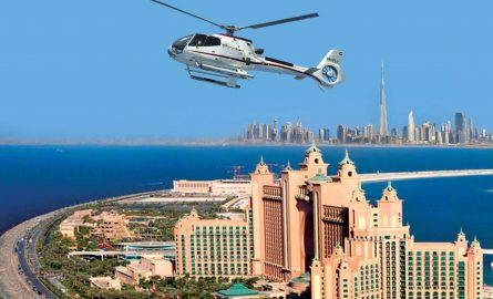 Helikopter Rundflüge ab dem Hotel Atlantis the Palm