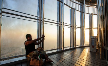 Sunset Ticket für den Burj Khalifa