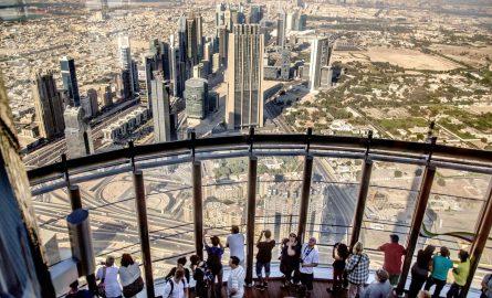 VIP Tickets für den Burj Khalifa mit Zutritt zur Terrasse