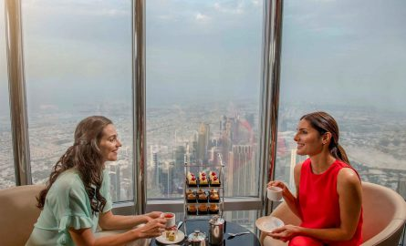 Die neue Burj Khalifa Lounge in Dubai