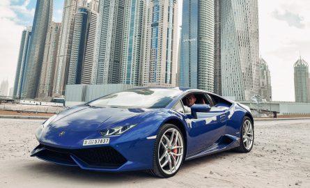 Lamborghini Huracan mieten in Dubai bei Edel & Stark
