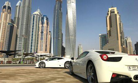 Ferrari mieten in Dubai