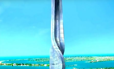 Der Dynamic Tower in Dubai