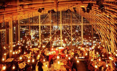 SUSHISAMBA Restaurant auf dem Palm Tower
