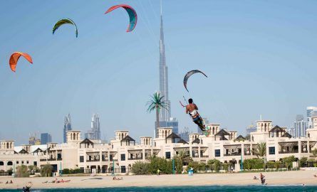 Kitesurf Beach in Dubai