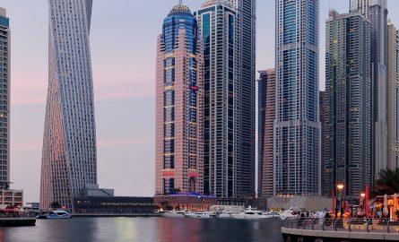 Marriott Harbour Hotel in Dubai Marina