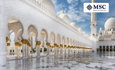Orient Kreuzfahrt MSC über Dubai