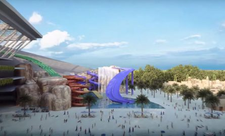 Meydan One Wasserpark in Dubai