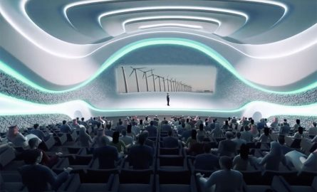 Vortrag im Museum of the Future in Dubai