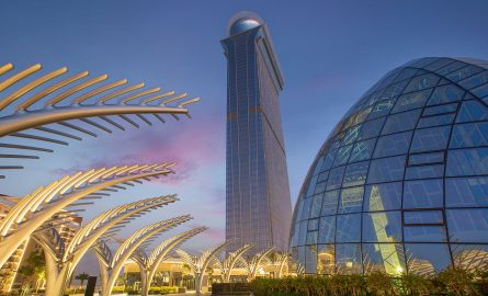 The Palm Tower in Dubai